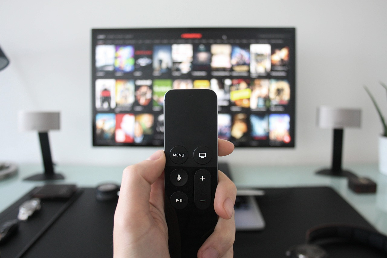 Smart TV mit Streaming Stick