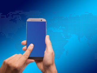 Mit Smartphone handeln
