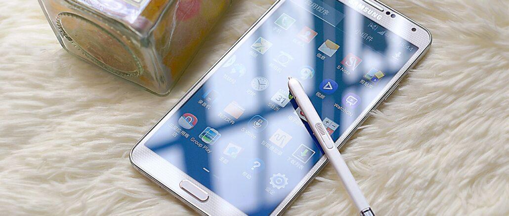 Galaxy Note 20 von Samsung